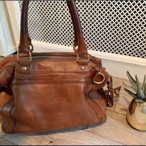 Rebecca Minkoff Brown Leather MAB Satchel